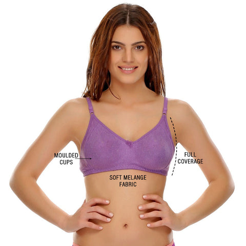 Soft Comfy Everyday Seamless T-Shirt Bra, , Bra Clovia Thailand