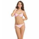 String Bra Brief Set In Baby Pink, O / Pink, Bikini Clovia Thailand