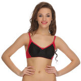 Two Toned Cotton Rich Full Cup Bra, , Bra Clovia Thailand