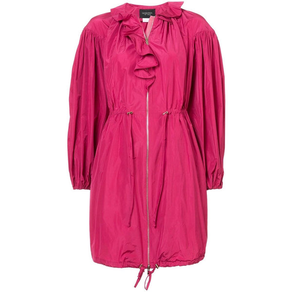 Giambattista Valli Fuxia Long Parka Jacket