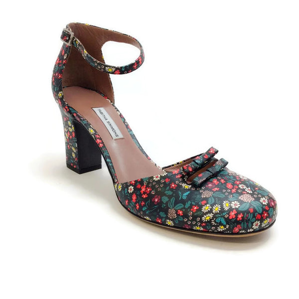 Amelia Multi Floral Sandals by Tabitha Simmons