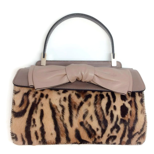 Aphrodite Satchel Pony Hair by Valentino