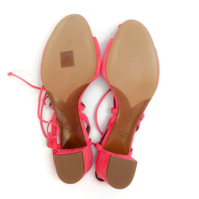 Lori Raspberry Lace Up Sandal by Tabitha Simmons 40