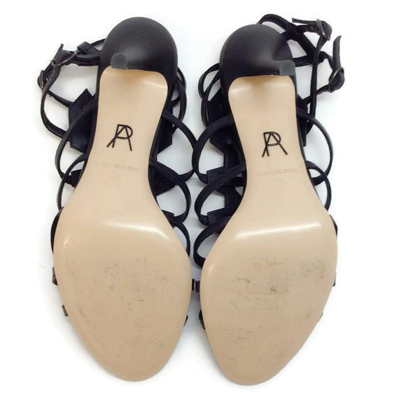 Attica Black Sandals by Paul Andrew 39