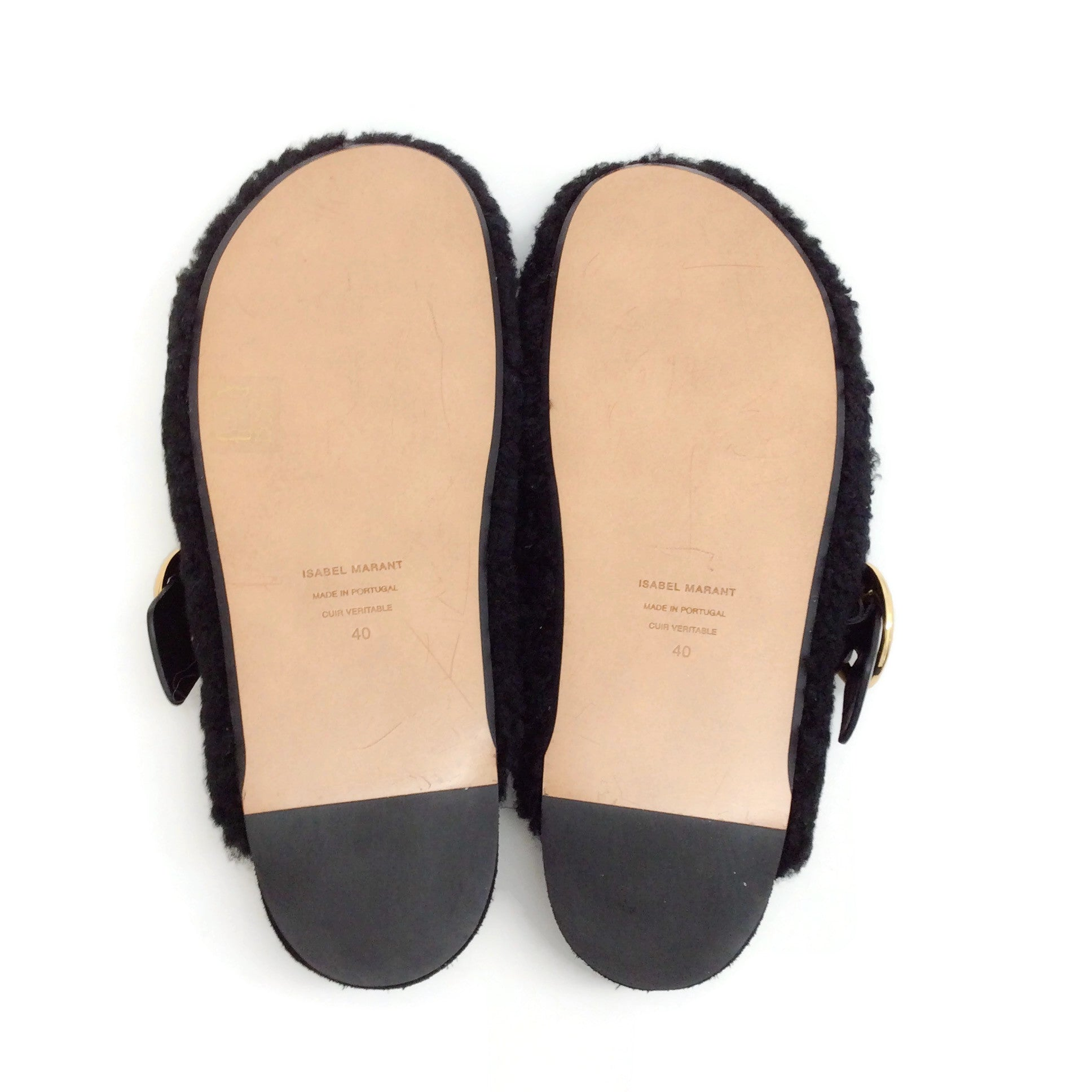 Isabel Marant Black Mirvin Clogs