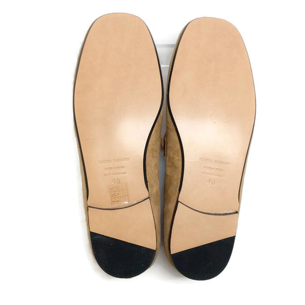 Farlow Suede Camel Loafers by Isabel Marant 40