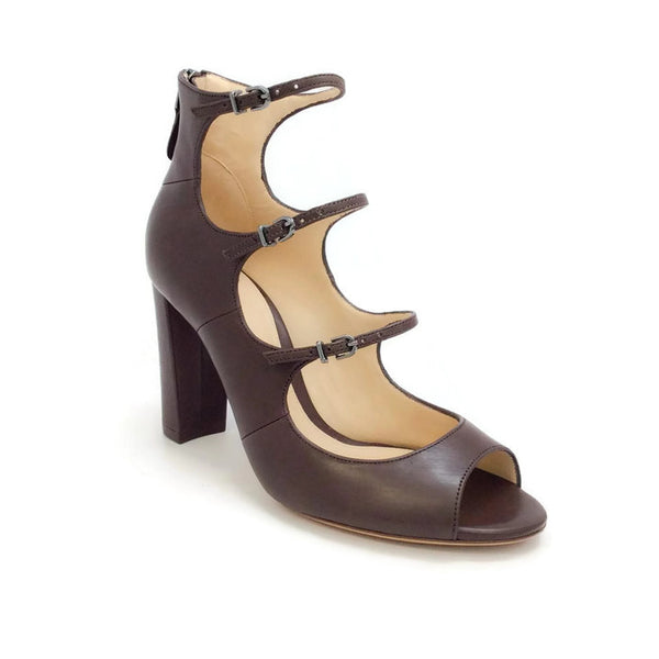 Kylie Brown Strap Sandals by Alexandre Birman