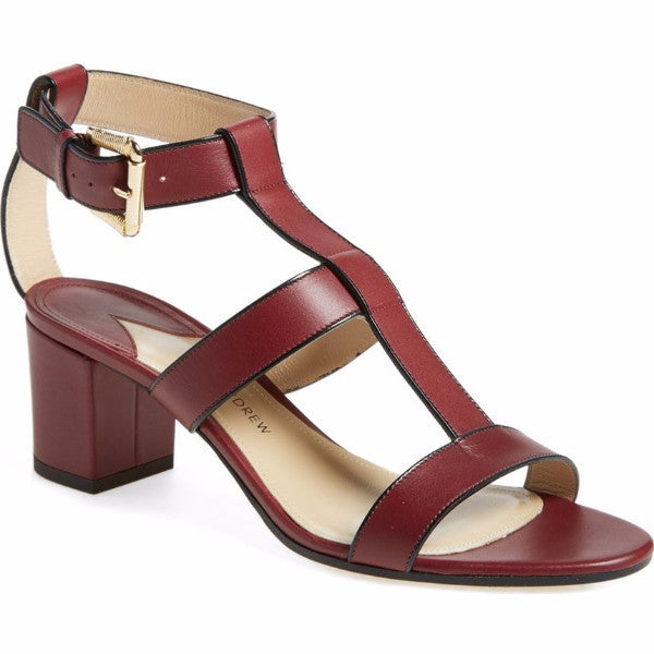 Salma Prune Sandals by Paul Andrew