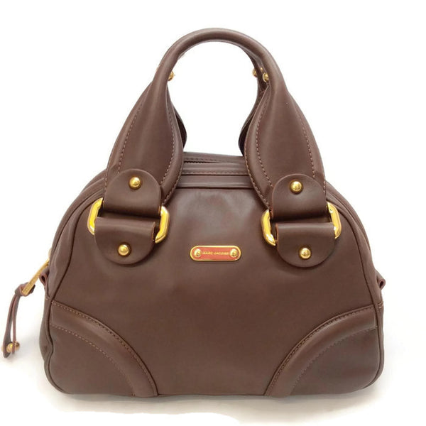 Bowling Bag Brown by Marc Jacobs