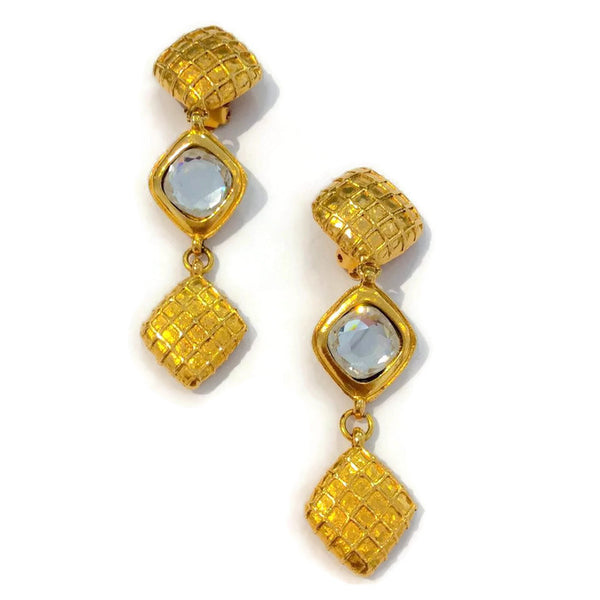 Vintage Gold Earrings by Chanel