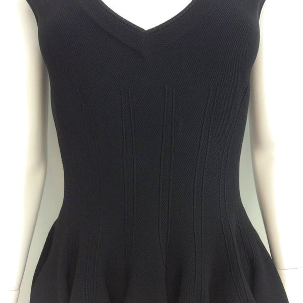 Ribbed Tulip Dress by Alaïa front detail
