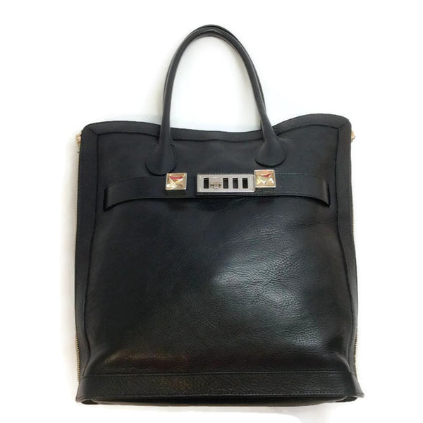 Ps11 Black Tote Bag by Proenza Schouler