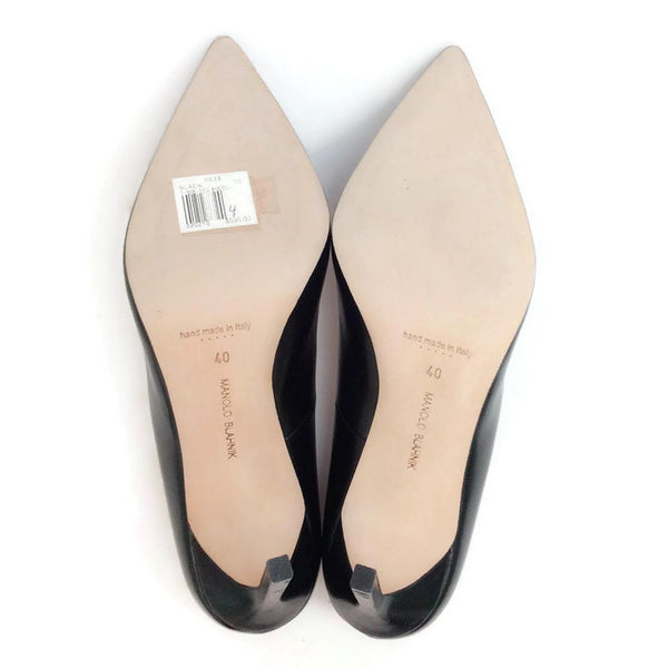 BB 105 Black Pumps by Manolo Blahnik 40