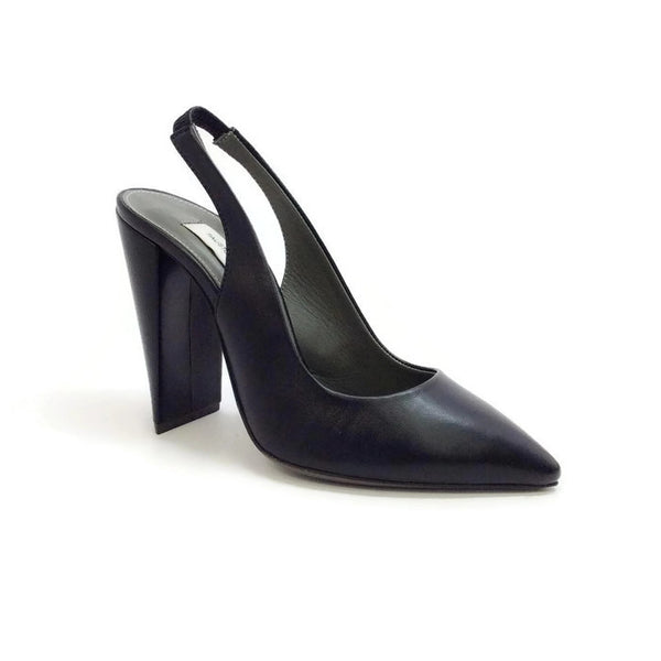 Lametta Black Pumps by Fausto Santini