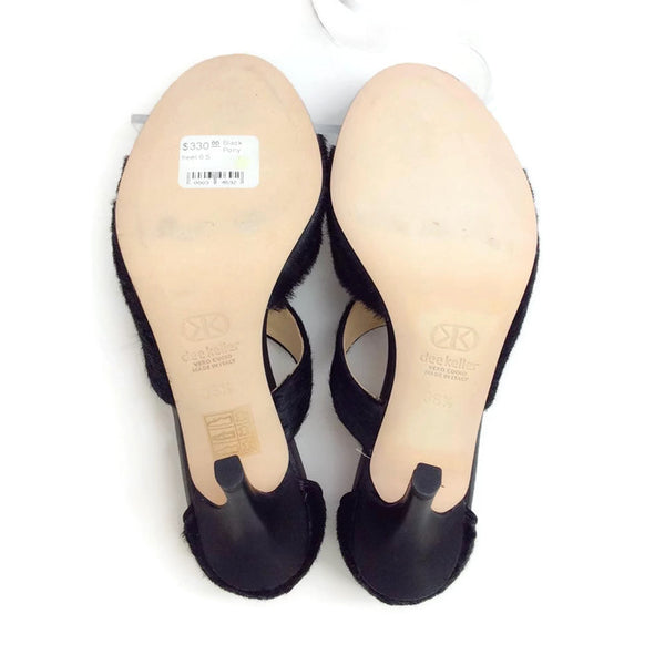 Margarite Black Pumps by Dee Keller 36.5