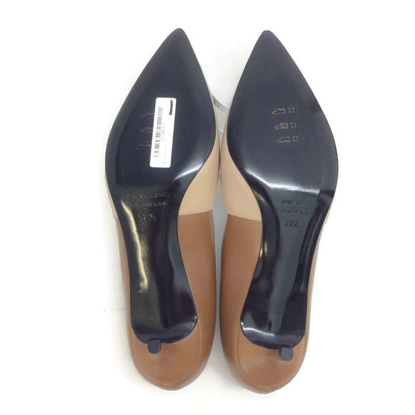 Two-toned Kitten Heel Beige / Camel by Pierre Hardy 37.5