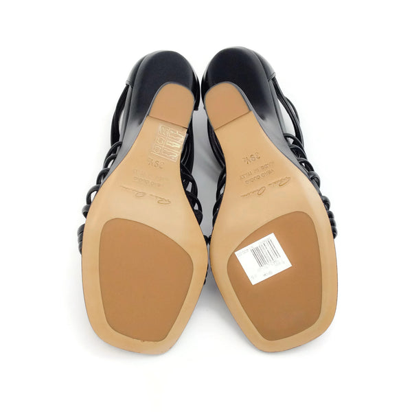 Rick Owens Black Mignon Cantilevered Sandals