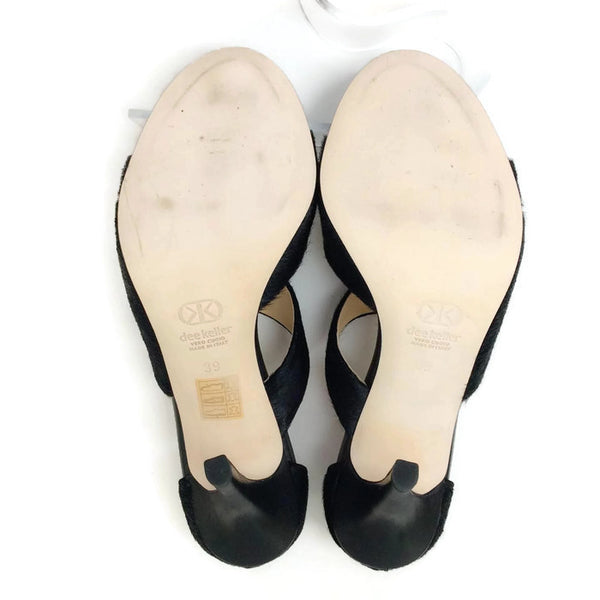 Margarite Black Pumps by Dee Keller 39