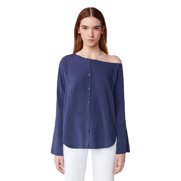 3X1 Blue Faye Blouse
