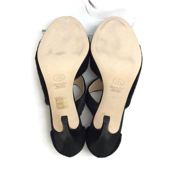 Margarite Black Pumps by Dee Keller 40
