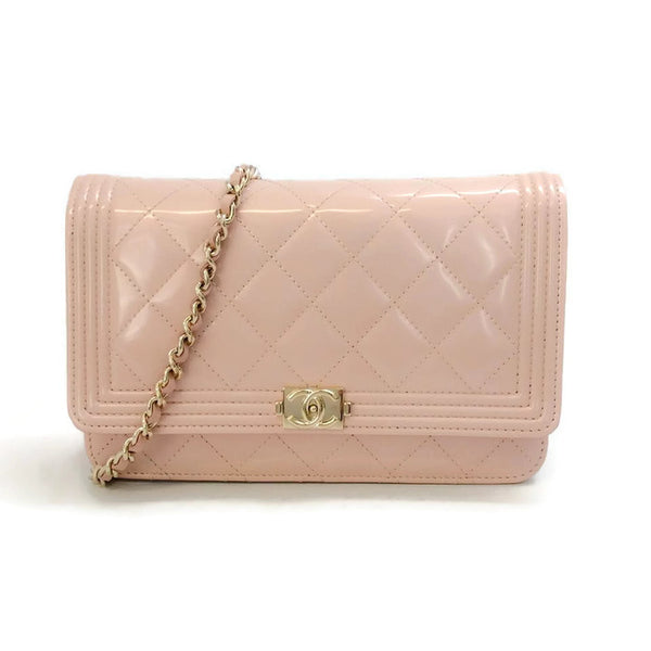 Quilted Blush Cross Body by Chanel
