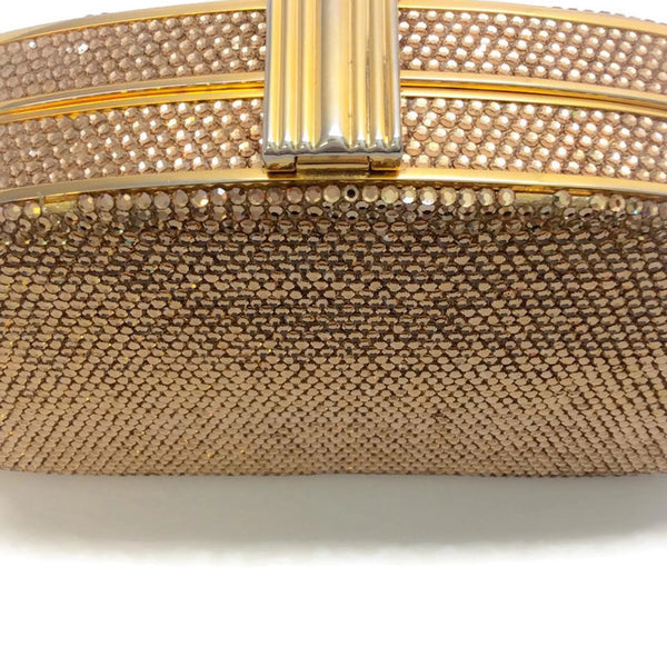 Gold Crystal Clutch by Judith Leiber
