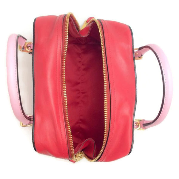 Pink Tassel Satchel by Moschino interior