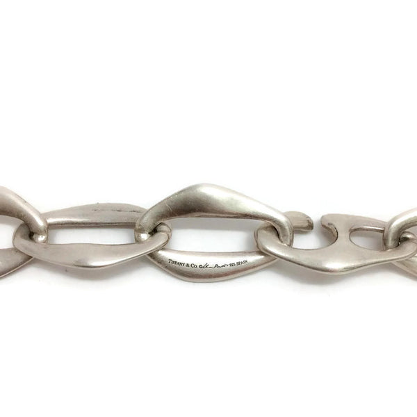 Elsa Peretti Sterling Silver Chain Link Belt by Tiffany & Co. clasp