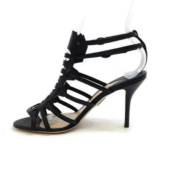 Attica Black Sandals by Paul Andrew inside