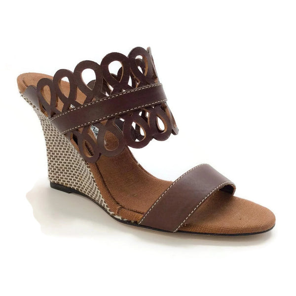 Gasina Chocolate Wedges by Manolo Blahnik