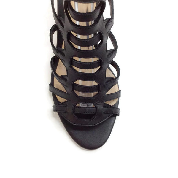 Attica Black Sandals by Paul Andrew toe