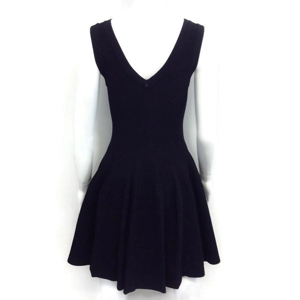 Ribbed Tulip Dress by Alaïa back