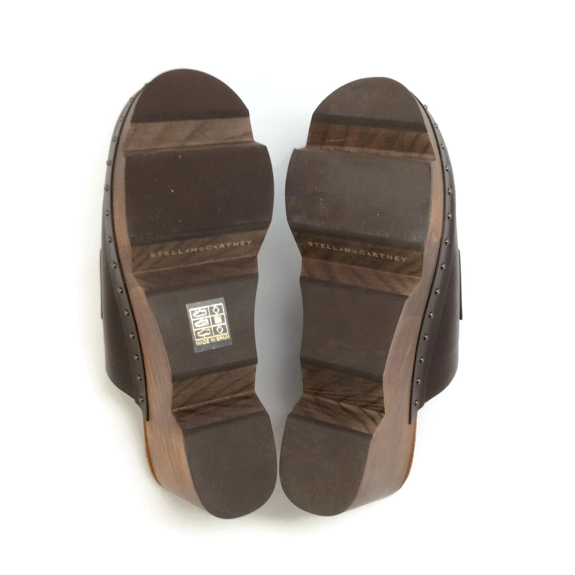 Stella McCartney Brown Sabot Clogs