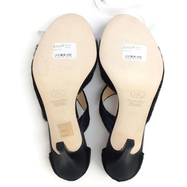 Margarite Black Pumps by Dee Keller 38.5