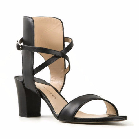 Lexington Black Sandals by Paul Andrew