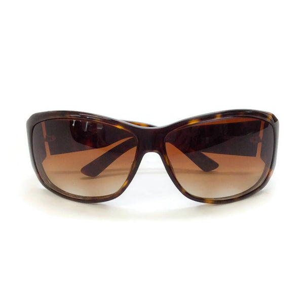 Brown Tortoise Shell GG Sunglasses-2592/S by Gucci front