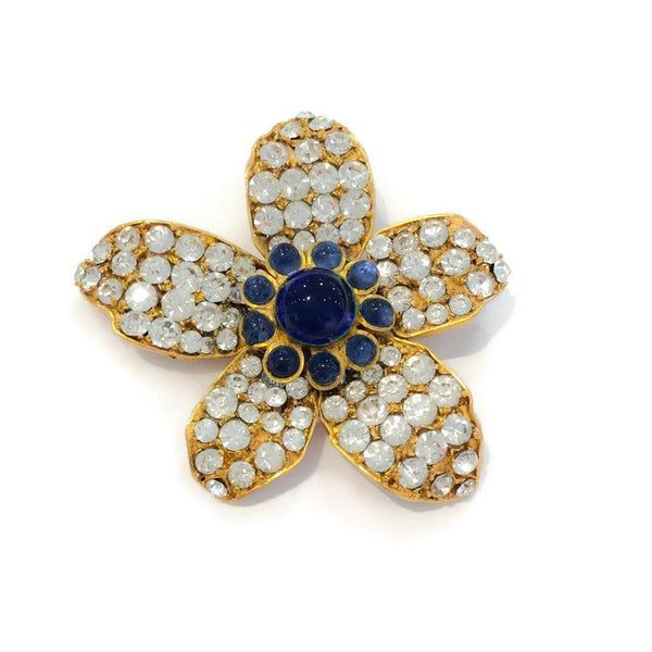 Vintage Gripoix Brooch by Chanel