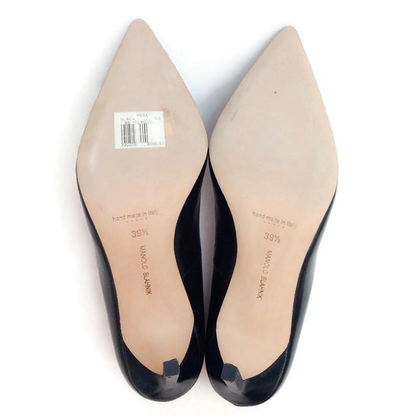 BB 105 Black Pumps by Manolo Blahnik 39.5
