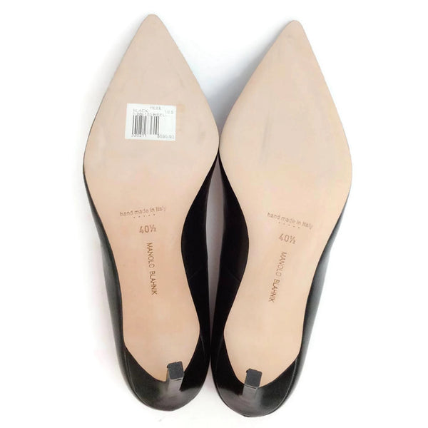 BB 105 Black Pumps by Manolo Blahnik 40.5