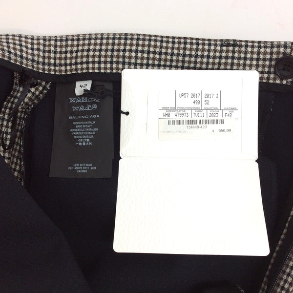 Balenciaga Brown Multi Cosmetic Skinny Pants