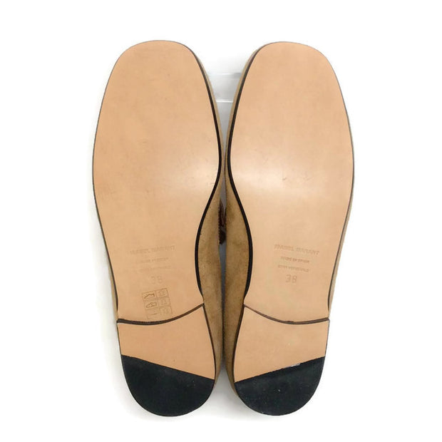 Farlow Suede Camel Loafers by Isabel Marant 38