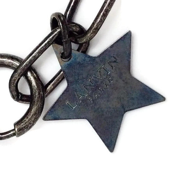 Crystal Star and Moon Short Necklace by Lanvin logo