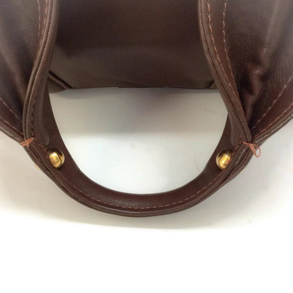 Bowling Bag Brown by Marc Jacobs handle alternate