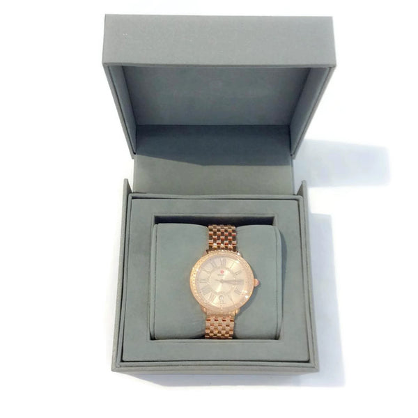 Serein Mid Rose Gold Watch by Michele