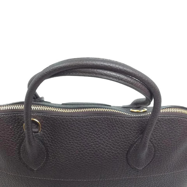Bolide Brown Satchel by Hermès top