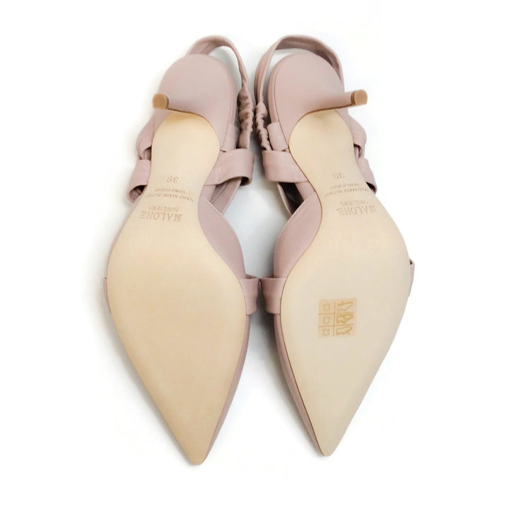 Malone Souliers Dusty Pink Winona Pumps