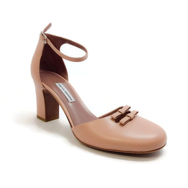 Bow Front D'orsay Pump Nude by Tabitha Simmons