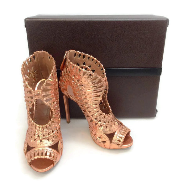 Studded Cage Sandals by Alaïa with box