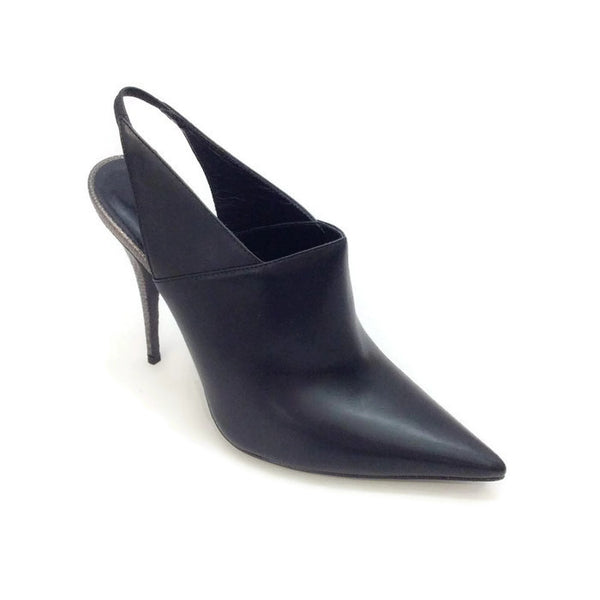 Cindy Slingback Black Pumps by Narciso Rodriguez