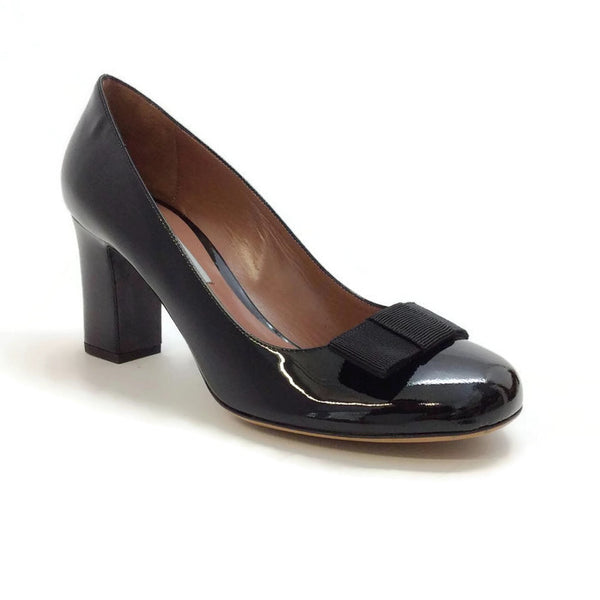 Flora Pump Black Patent by Tabitha Simmons